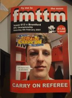 Fanzine Issue 613 Boro v Brentford