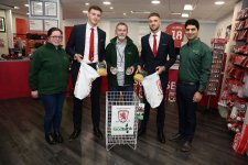Permanent Foodbanks Installed At The Riverside