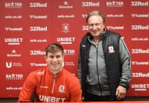 Paddy McNair Signs Boro Contract Extension